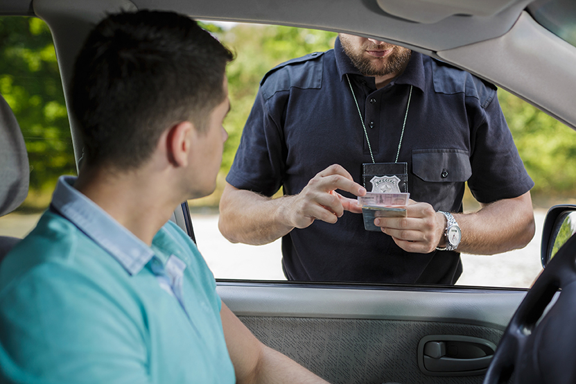 Getting a ticket for a minor traffic offense | Illinois