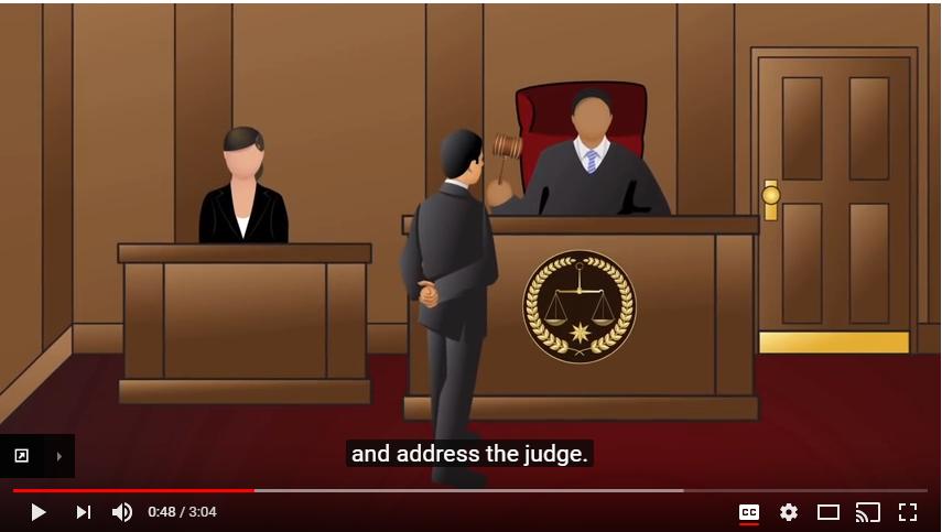 law basics courtroom basics illinois legal aid online